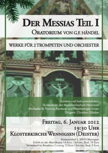 Konzert in der Klosterkirche Wennigsen