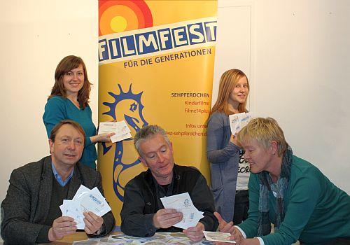 Christina Schmidt, Andreas Holte (Leiter), Ralf Knobloch, Samira Moser und Adele Mecklenborg (v.l.)