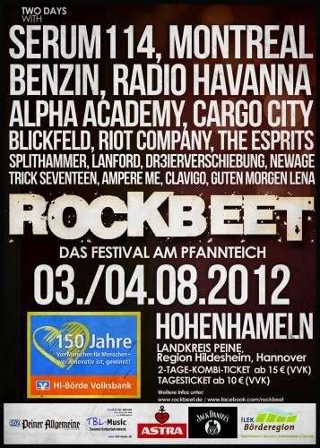 Junge Bands treten beim Rockbeet-Festival in Hohenhameln auf