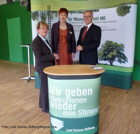 Anne Wojke, Nicole Krüger und Rainer Fredermann