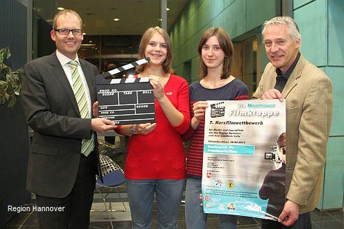 Start des siebten Kurzfilmwettbewerbs für Kinder und Jugendliche