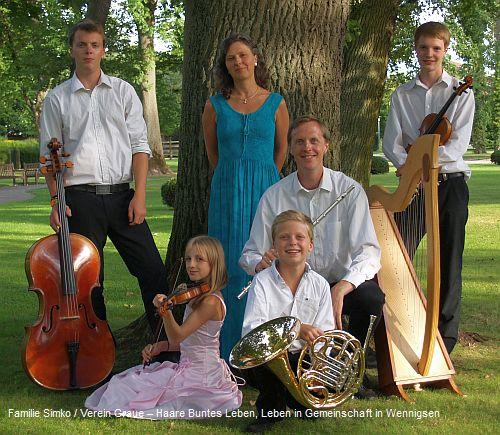 Konzert mit der Familie Simko