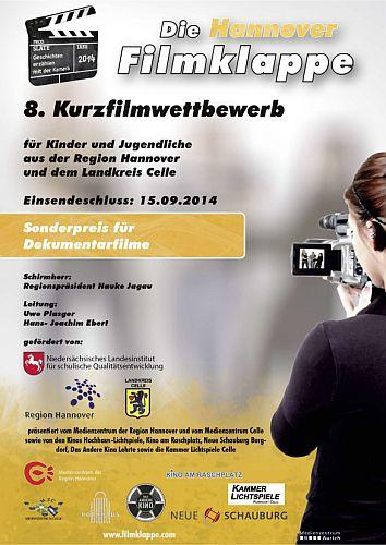 Hannover Filmklappe 2014 - Wettbewerb für Kinder und Jugendliche
