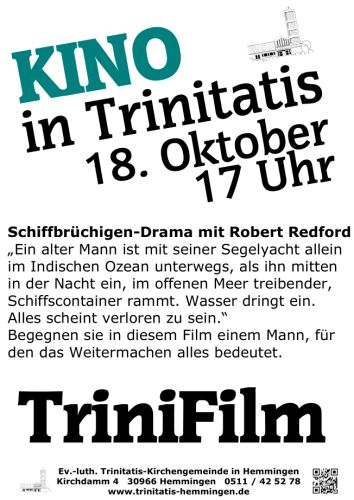 TriniFilm: Kirchenkino in Trinitatis