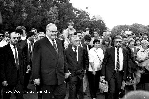 Helmut Kohl in Berlin - Foto: Susanne Schumacher