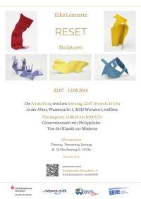"""Elke Lennartz """"Reset"""" – Skulpturen"""